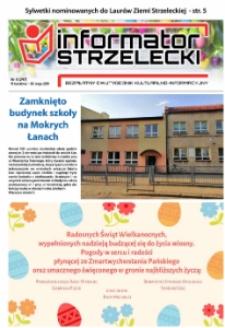 Informator Strzelecki : bezpłatny dwutygodnik kulturalono-informacyjny 2019, nr 8 (247).