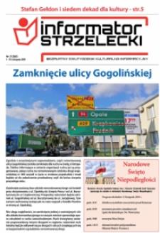 Informator Strzelecki : bezpłatny dwutygodnik kulturalono-informacyjny 2019, nr 21 (260).