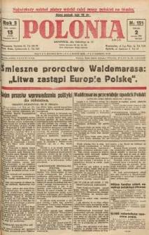 Polonia, 1928, R. 5, nr 151