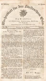 Wochenblatt für das Fürstenthum Oels, 1842, Jg. 9, No. 9