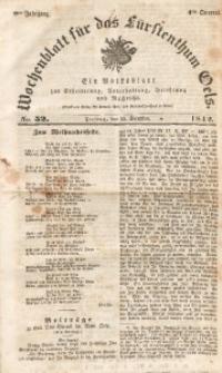 Wochenblatt für das Fürstenthum Oels, 1842, Jg. 9, No. 52