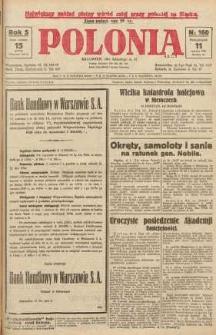 Polonia, 1928, R. 5, nr 160