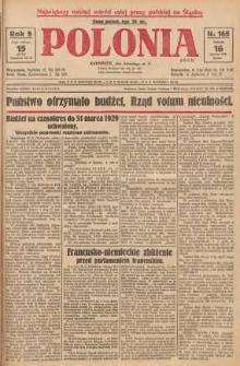 Polonia, 1928, R. 5, nr 165