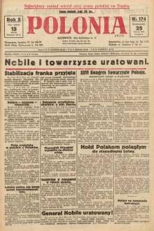 Polonia, 1928, R. 5, nr 174