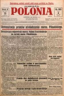 Polonia, 1928, R. 5, nr 183