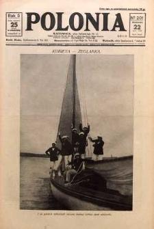 Polonia, 1928, R. 5, nr 201