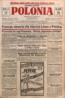 Polonia, 1928, R. 5, nr 203