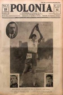 Polonia, 1928, R. 5, nr 222