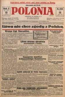 Polonia, 1928, R. 5, nr 225