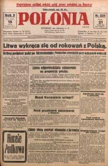 Polonia, 1928, R. 5, nr 231