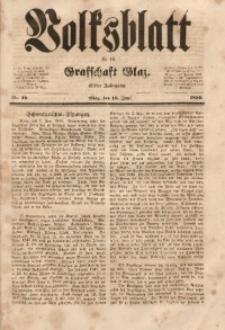 Volksblatt für die Grafschaft Glatz, 1850, Jg. 11, Nr. 49