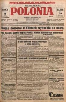 Polonia, 1928, R. 5, nr 239