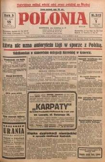 Polonia, 1928, R. 5, nr 242