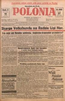 Polonia, 1928, R. 5, nr 268