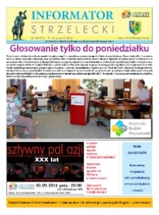 Informator Strzelecki : bezpłatny dwutygodnik kulturalono-informacyjny 2016, nr 18 (181).