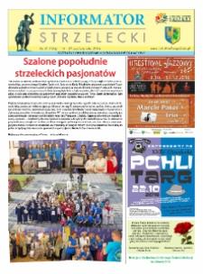 Informator Strzelecki : bezpłatny dwutygodnik kulturalono-informacyjny 2016, nr 21 (184).