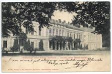 Erzherzogl. neues Schloss Saybusch. – Arcyks. nowy zamek Żywiec