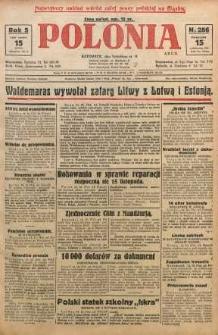 Polonia, 1928, R. 5, nr 286