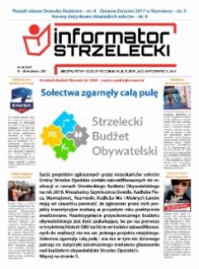 Informator Strzelecki : bezpłatny dwutygodnik kulturalono-informacyjny 2017, nr 18 (207).
