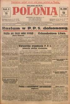 Polonia, 1928, R. 5, nr 290