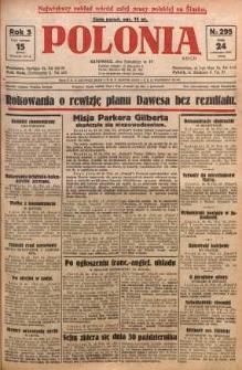 Polonia, 1928, R. 5, nr 295