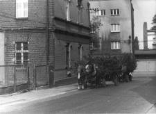 Skrzyżowanie ulic Piłsudskiego i Bytomskiej w Piekarach Śląskich