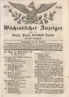 Wöchentlicher Anzeiger, 1849, Jg. 32, No. 8