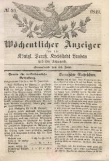Wöchentlicher Anzeiger, 1849, Jg. 32, No. 50