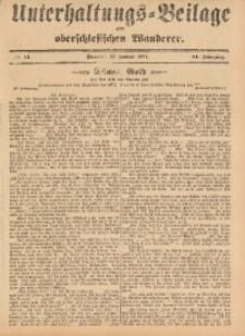 Unterhaltungs-Beilage zum Oberschlesischen Wanderer, 1911, Jg. 84, Nr. 13