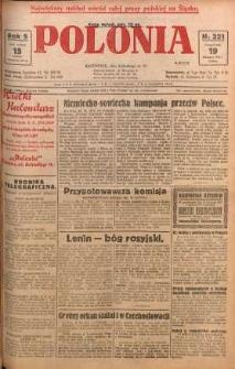 Polonia, 1928, R. 5, nr 321