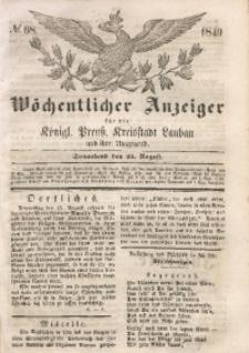 Wöchentlicher Anzeiger, 1849, Jg. 32, No. 68
