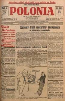 Polonia, 1928, R. 5, nr 325
