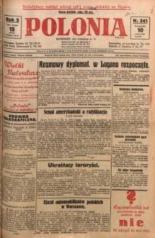 Polonia, 1928, R. 5, nr 341