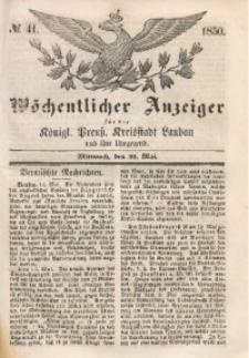 Wöchentlicher Anzeiger, 1850, Jg. 33, No. 41