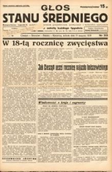 Głos Stanu Średniego, 1938, R. 4, nr 33