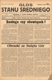 Głos Stanu Średniego, 1937, R. 3, nr 35