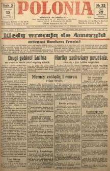 Polonia, 1926, R. 3, nr 22