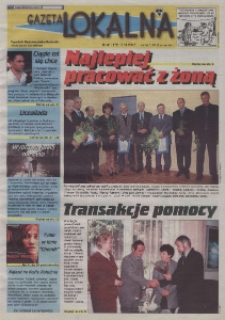 Gazeta Lokalna : tygodnik Kędzierzyńsko-Kozielski 2002, nr 41 (172).