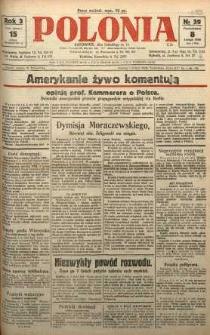 Polonia, 1926, R. 3, nr 39