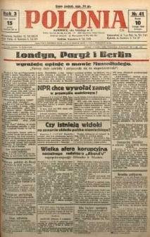 Polonia, 1926, R. 3, nr 41