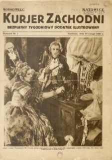 Kurjer Zachodni. Bezpłatny Tygodniowy Dodatek Ilustrowany, 1927, nr 1