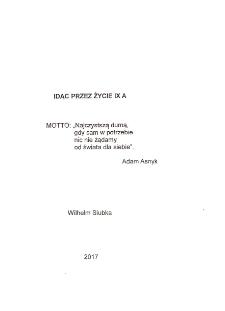 """Idąc przez życie """"Poczta Panowie - Poczta"""". Cz. IX A 2017 r."""