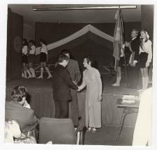 Zakończenie roku szkolnego klas ósmych 1973