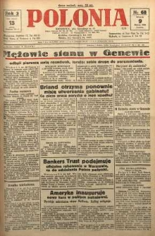 Polonia, 1926, R. 3, nr 68