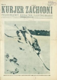 Kurjer Zachodni. Tygodniowy Dodatek Ilustrowany, 1930, nr 1