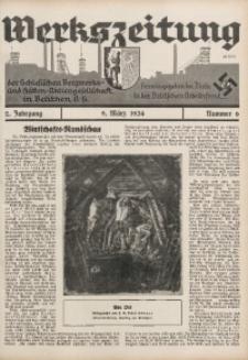 Werkszeitung der Schlesischen Bergwerks- und Hütten-Aktiengesellschaft in Beuthen O/S., 1934, Jg. 2, Nr. 6