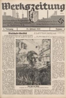 Werkszeitung der Schlesischen Bergwerks- und Hütten-Aktiengesellschaft in Beuthen O/S., 1935, Jg. 3, Nr. 4