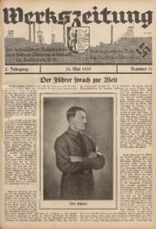 Werkszeitung der Schlesischen Bergwerks- und Hütten-Aktiengesellschaft in Beuthen O/S., 1935, Jg. 3, Nr. 11