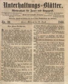 Unterhaltungs-Blätter, 1860, Jg. 36, No. 39