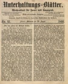 Unterhaltungs-Blätter, 1860, Jg. 36, No. 43